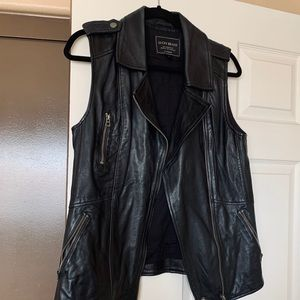 Lucky Brand • Genuine Leather Vest